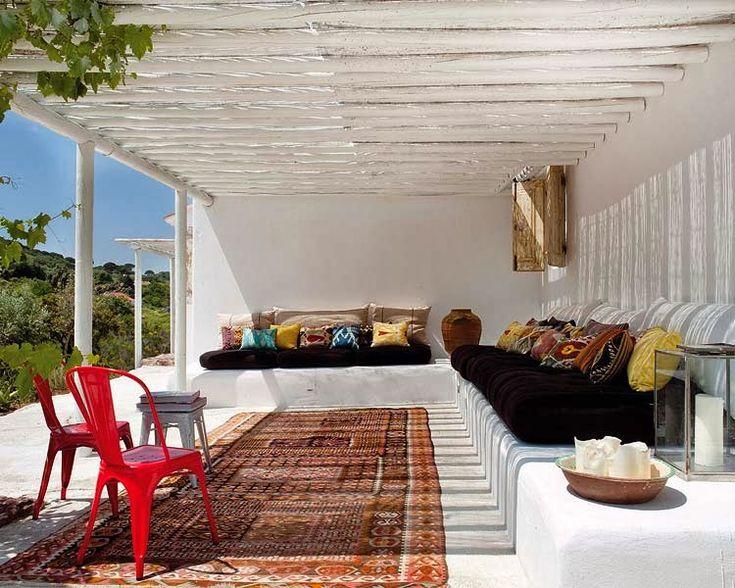 M s de 25 ideas fant sticas sobre porches r sticos en - Decorar jardines rusticos ...