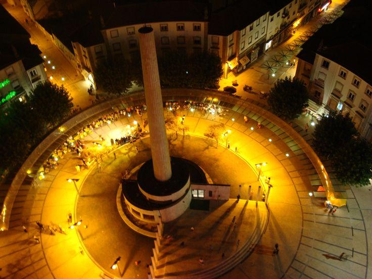 Portugal São João da Madeira Centro Noite