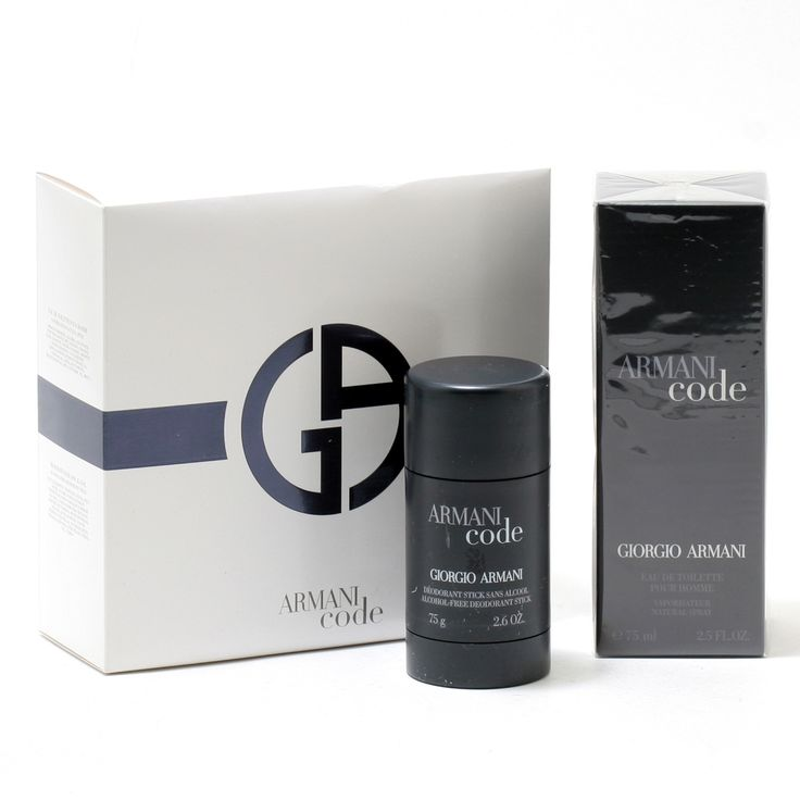 Armani Code Pour Homme 2.5 Oz Spray/Deodorant Stick
