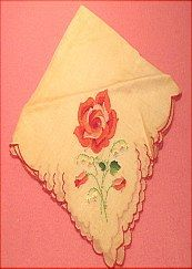Handkerchief sold on website http://barbspencerdolls.com