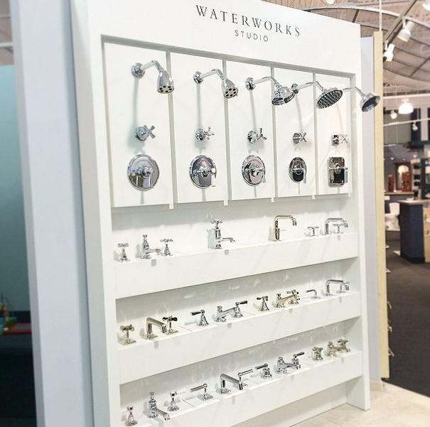 New Waterworks Display In Our Westlake Showroom Edelman