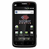 #5: Patriot Mobile Phone ZTE Warp - Prepaid Phone - Includes 15 days of service Unlimited Talk/Text/500MB Data