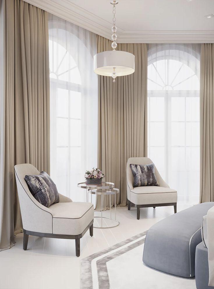 In Interior Studio Luxury, Elegant And Beautiful Living