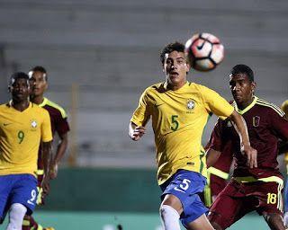 Blog Esportivo do Suíço: Brasil vence a Venezuela e segue com 100% no Sul-Americano sub-17