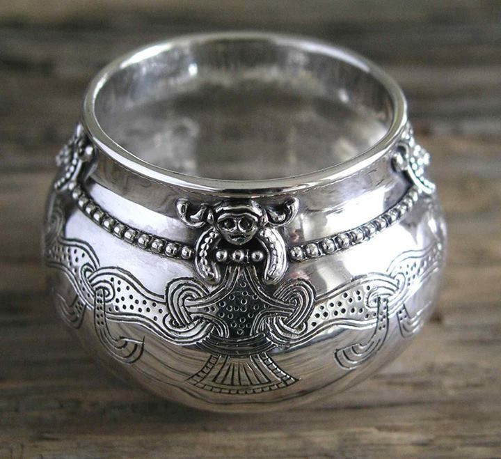 replica of viking cup from Lejre (Denmark)