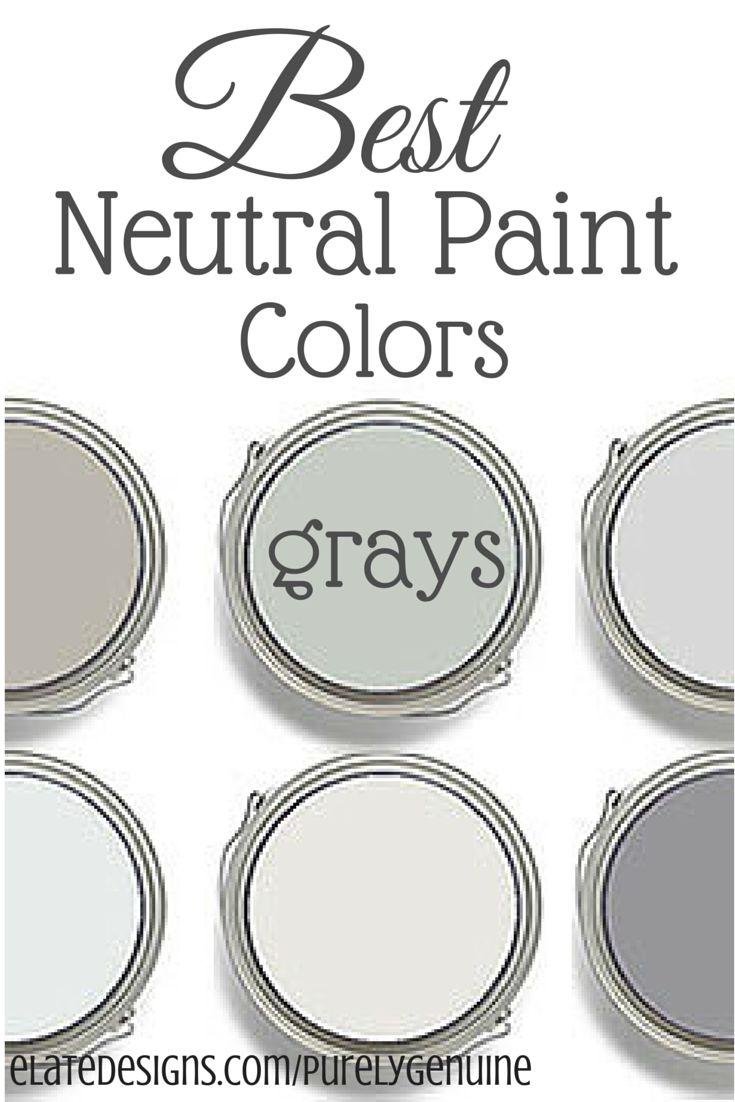 Best neutral paint colors 25 pinterest for Best neutral paint color for walls