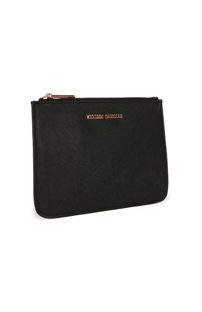BLACK OCEAN ROAD PURSE BY VP THE LABEL. Find it at www.shoptrawl.com