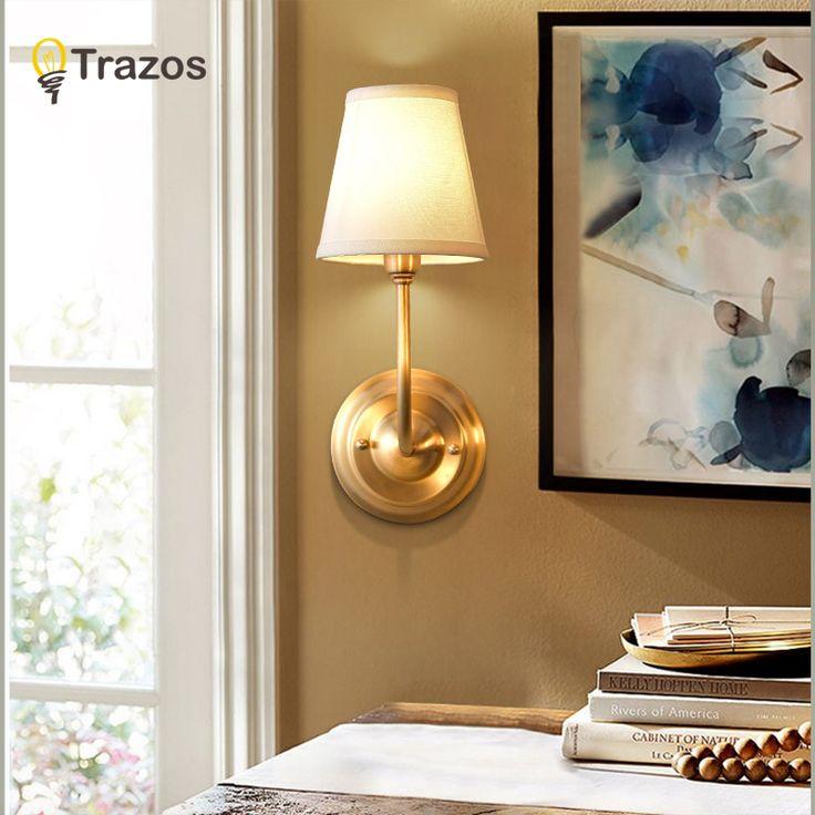 American Vintage Стиль бра прикроватные лампы бра лестница Освещение для спальни Домашний Декор 110 В/220 В E14 Держатель Освещение