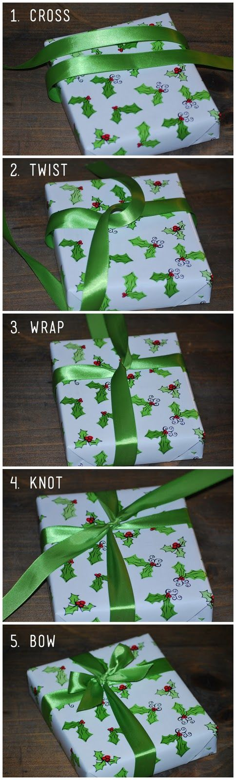 FINALLY! I have never known how to do this & yet still buy ribbon- so I have GOBS of it. Time to use it!