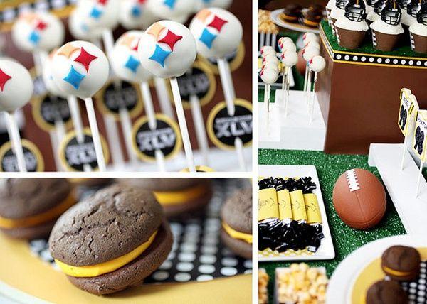 Pittsburgh Steelers TreatsFootball Treats, Steelers Treats, Football Seasons, Steelers Parties, Pittsburgh Steelers, Football Parties, Parties Ideas, Parties Treats, Parties Food