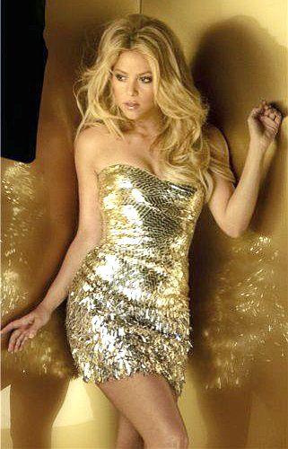 Shakira, Colombian.