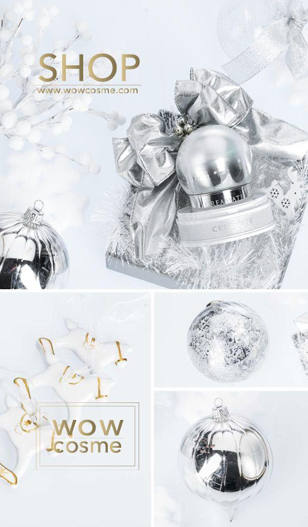 J2D, white snow lotus & snail, christmas present, wowcosme, SHOP ONLINE