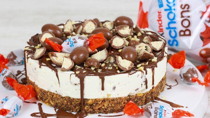 Kinder Schoko Bon Torte ohne Backen – Cook Bakery – #Backen #Bakery #Bon #Cook #…