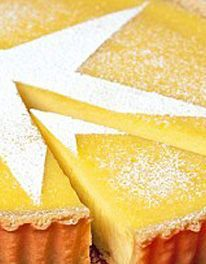 Classic Lemon Tart... Delicious crisp pastry with a smooth lemon filling. Can be served warm or cold... SERVES 8...