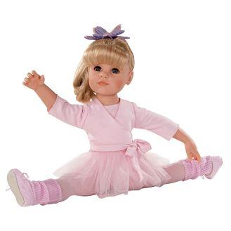 Götz dukke, Hannah, 50 cm - til ballet , 14 dele