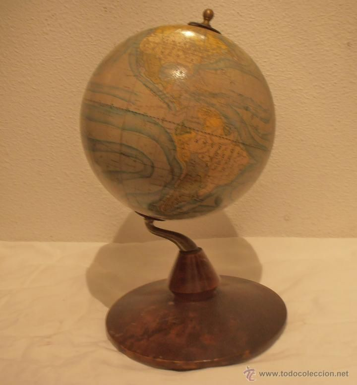 Globo terraqueo bola del mundo mapa mundi dalmau carles pla globos terraqueos lunar - Bola del mundo decoracion ...