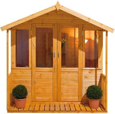 Garden Sheds With Veranda 13 best garden summer houses images on pinterest | summer houses