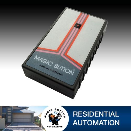 Magic Button Remote FMT-401 12 Dip Switch Transmitter by magicbuttonman