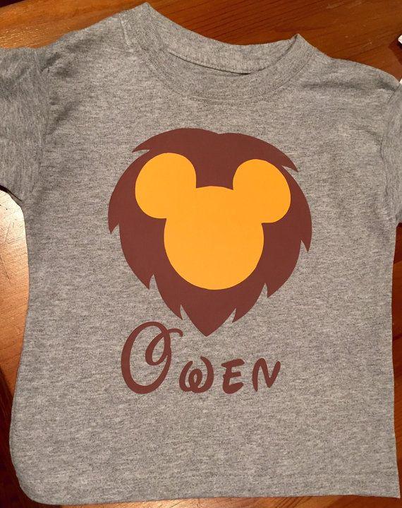 Disney lion king shirt