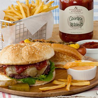 Country Ketchup - Ketchup all grown up. Zesty and full flavored, it's great on everything.
