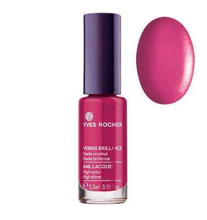 Esmalte de uñas Brillante color Rose somptueux