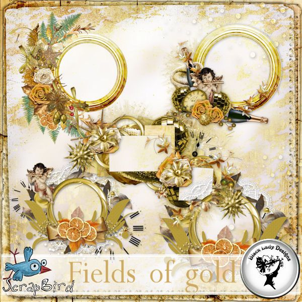 Fields of gold - Frames by Black Lady Designs