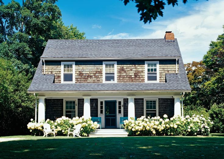The Newlywed Diaries: Hydrangea + Cedar Shingles = Perfection