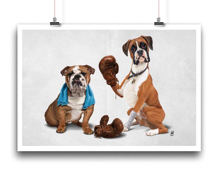 Raging (Wordless) | Shop art | decor | wall art | inspiration | caricature | home decor | idea | humor | gifts