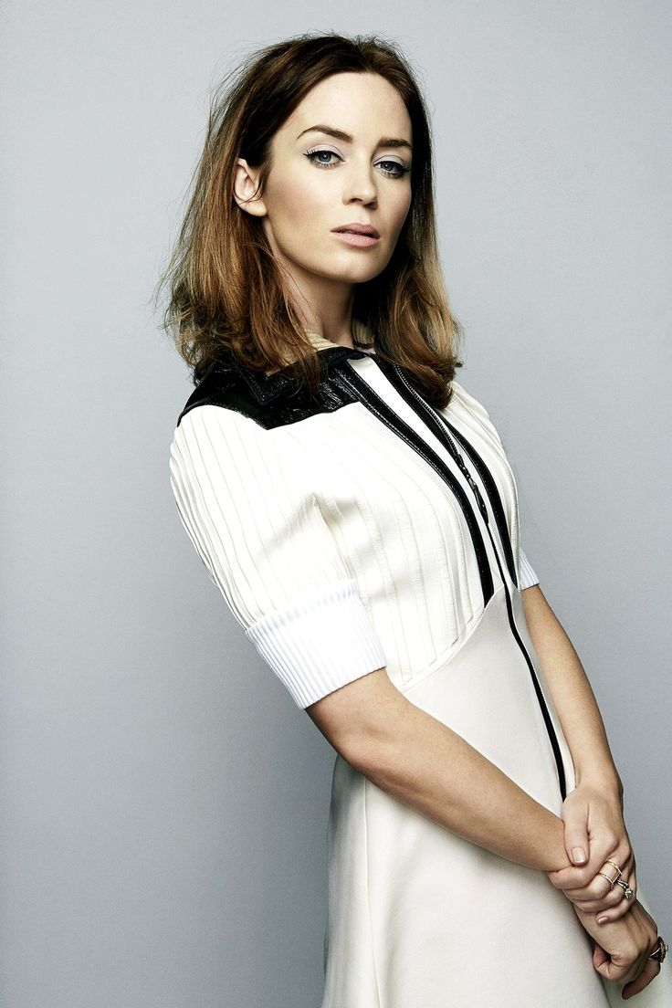 "coffeandcigarettes1: ""Emily Blunt, photograpehd by Danielle Levitt for The Guardian, Jan 3, 2015. """