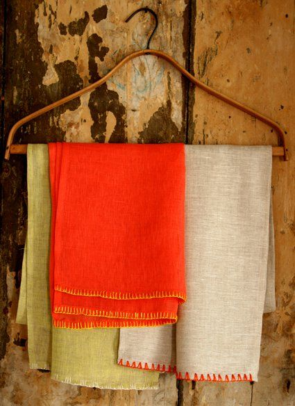 Mother's Day Embroidered Scarves | Purl Soho - Create