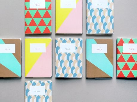 patterns | geometric shapes | lovely colors: Design Inspiration, Paper, Colors, Graphics Design, Notebooks Covers, Patterned Planners, Patterns Planners, Presents, Designinspiration