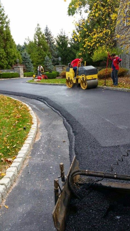 No money up front. #masonry #paving #drainage #waterproofing #asphalt #driveway #landscaping