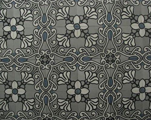 Jugendstil II portugese tegels,cementtegels