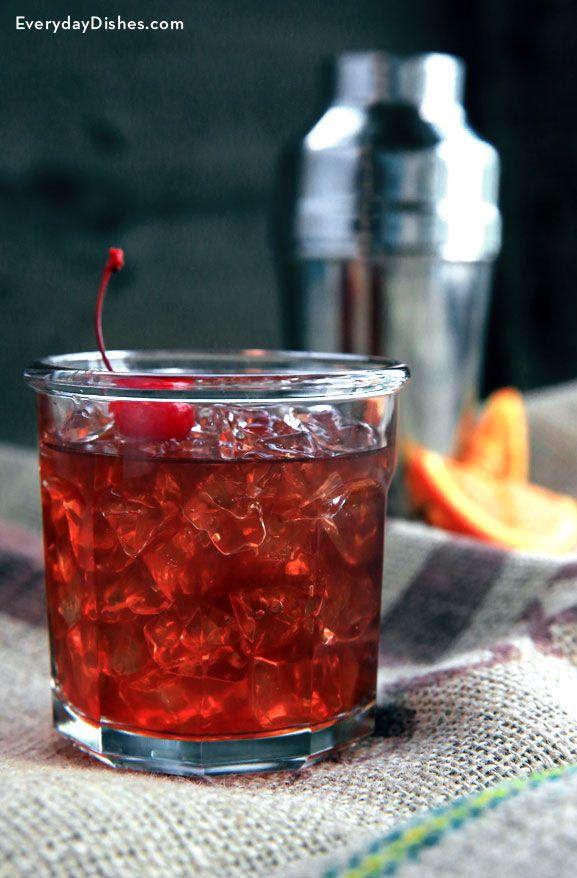 Patriotic rum cocktail recipe