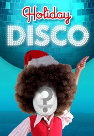 Ready for an all right, outta sight holiday? Cast five people in this holiday disco dance for a retro Christmas eCard complete with festive fros!