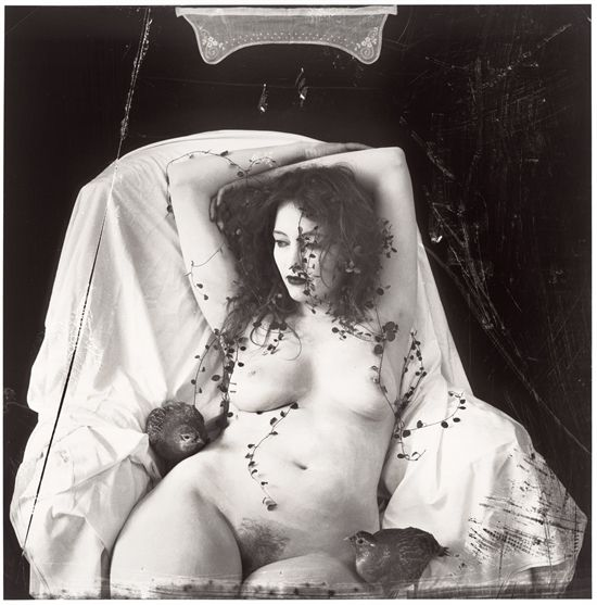 White on White, Paris by Joel-Peter Witkin