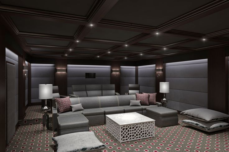 Home Theater Action Packed Home Theaters Pinterest
