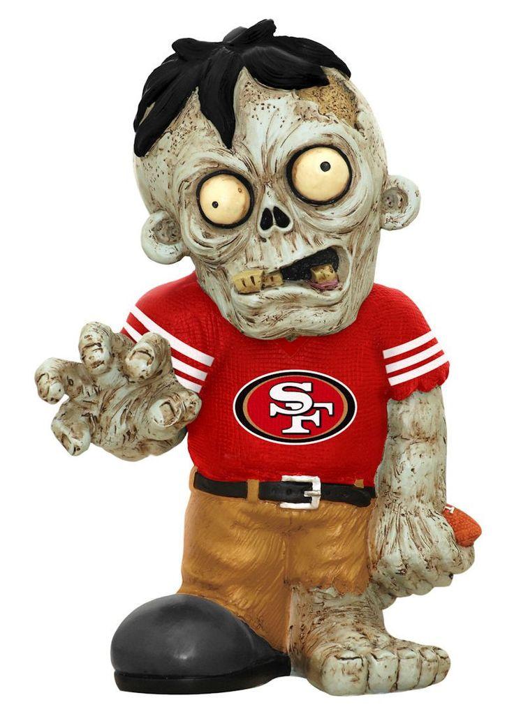 San Francisco 49ers Zombie Figurine