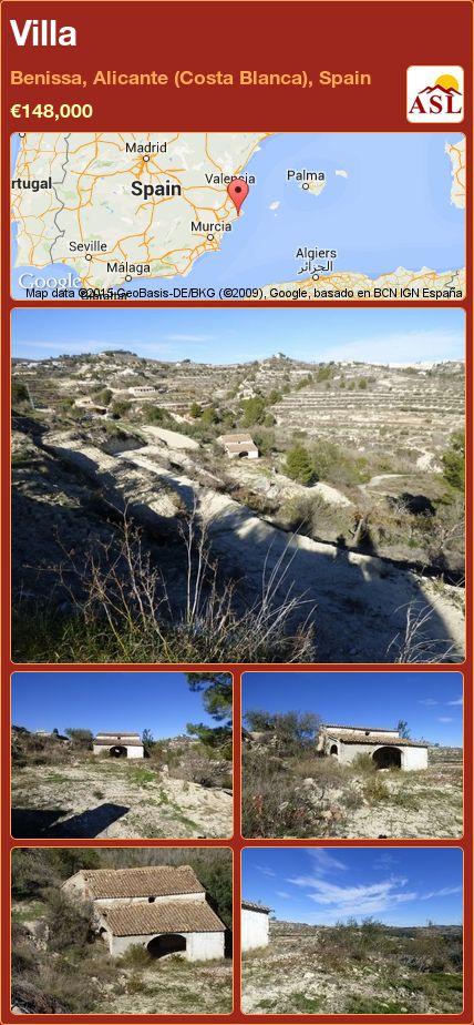 Villa in Benissa, Alicante (Costa Blanca), Spain ►€148,000 #PropertyForSaleInSpain