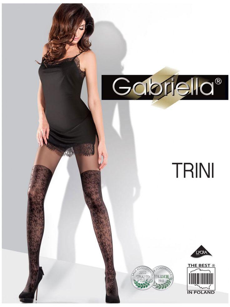 Pančuchové nohavice Gabriella Trini
