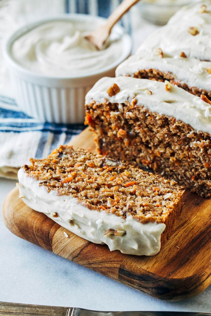 Vegan Banana Carrot Bread with Cashew Cream Cheese Icing- banana replaces egg in this recipe for a lighter take on carrot cake with irresistible flavor. Whole grain, refined sugar-free and dairy-free! Do you ever wonder how all of the American holiday traditions began? Like the Easter Bunny. I'm pretty sure he had nothing to do with the …