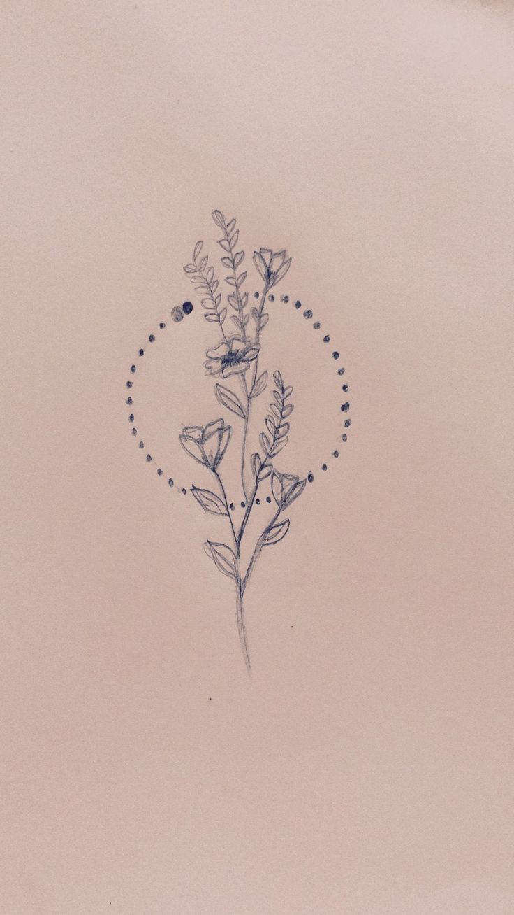 Thinking about getting this one as my first tattoo #tattoo #wildflowers