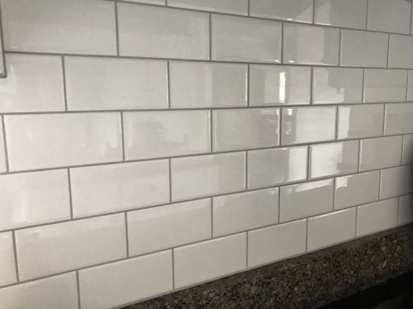 Platinum Grout White Subway Tile Millennial Boss White Subway Tile White Subway Tile Bathroom White Subway Tile Kitchen