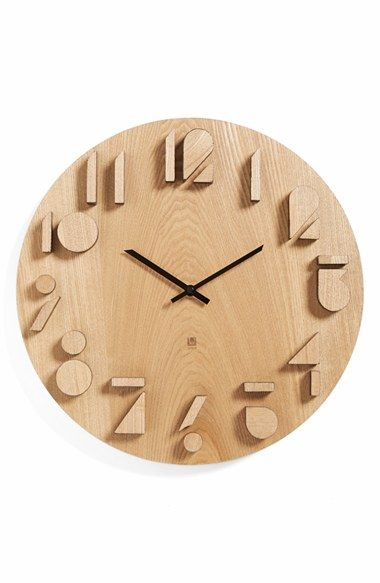 Umbra 'Shadow' Wall Clock available at #Nordstrom