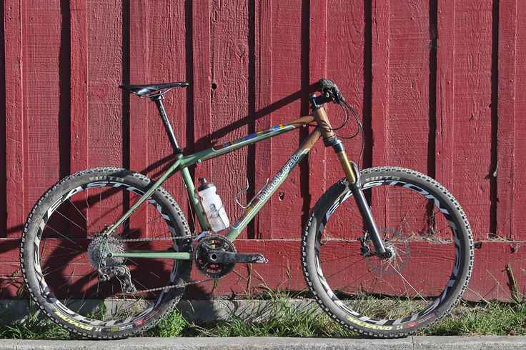 Another great HT: Brian Vernor's Black Cat Hardtail MTB from ProllynotProbably.