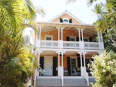 "Robert Garant of victorian-cottage-plans designed and built this house in the 1990's. They were still putting the final touches on it when it went on the ""Key West Historical Tour!"""