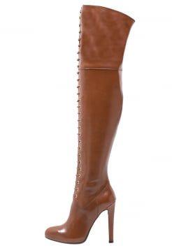 Mai Piu Senza - High Heel Stiefel - brown