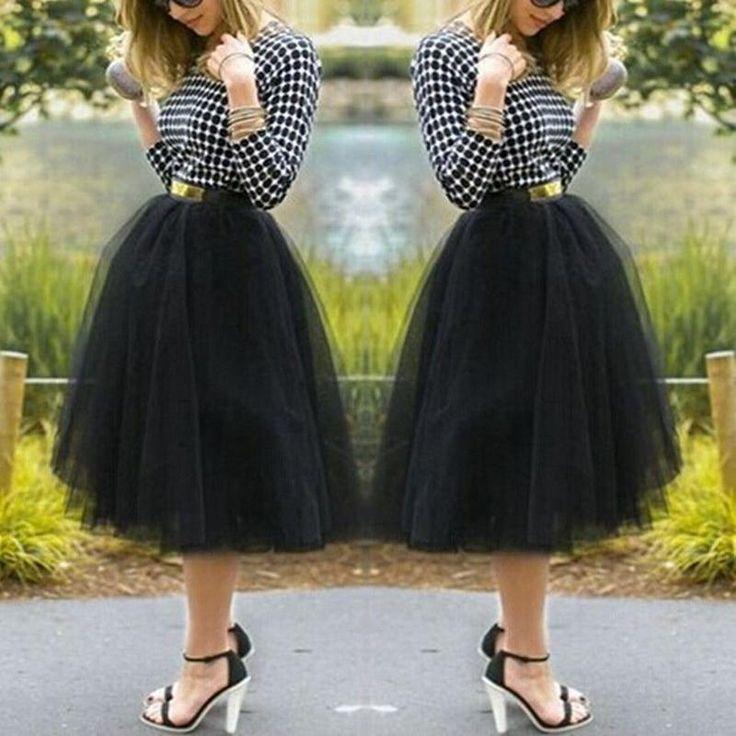2016 Fashion Color Mini Skirt Women Girls Under Rockabilly