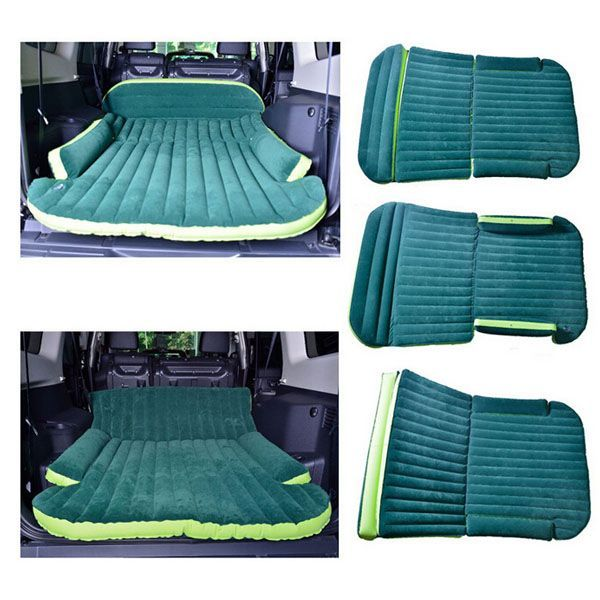 Universal car inflatable mattress outdoor travel car air for Beds 80 off