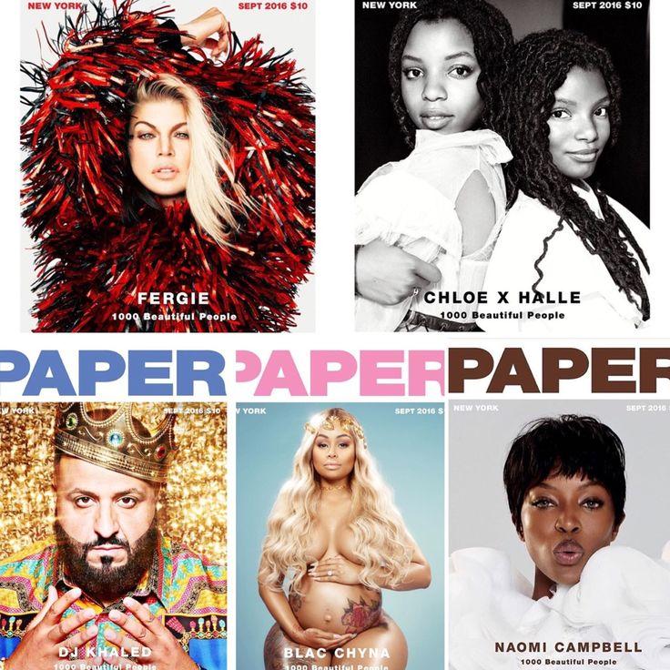 Sassy Blog Fierce 5 #papermagazine #paper #boss #bossbabe #fergie #chloexhalle #djkhaled #blacchyna #naomicampbell #cover #magazine #beautifulpeople #sassylook #sassystyle #sassyblog